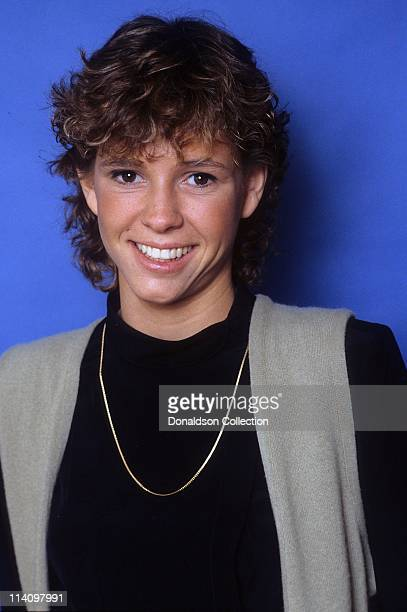 Kristy McNichol poses for a portrait in September 1987 in Los Angeles California
