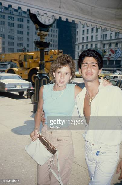 Kristy McNichol with her boyfriend at the Sherry Netherlands circa 1970 New York