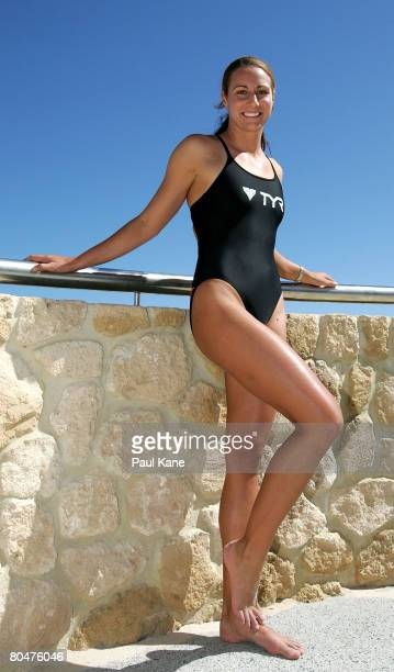 Kristy Munroe of Queensland poses for a photo during the 2008 Australian Surf Lifesaving Championships launch held at Scarborough Beach April 2 2008...