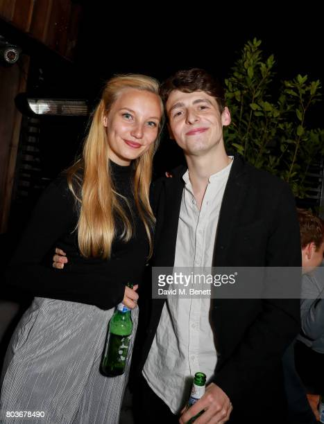 Kristy Philipps and Anthony Boyle attend the press night after party for 'The Ferryman' at the Century Club on June 29 2017 in London England
