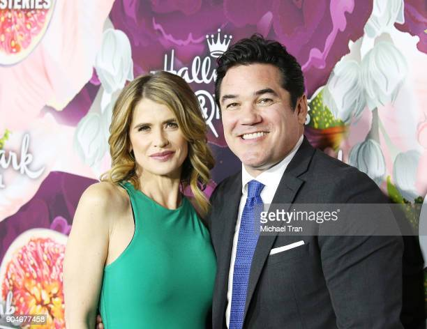 Kristy Swanson and Dean Cain arrive to the Hallmark Channel and Hallmark Movies and Mysteries Winter 2018 TCA Press Tour held at Tournament House on...