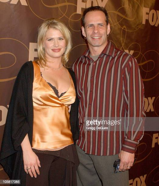 Kristy Swanson and Lloyd Eisler during FOX Television 2006 TCA Winter Party at Citizen Smith in Hollywood California United States