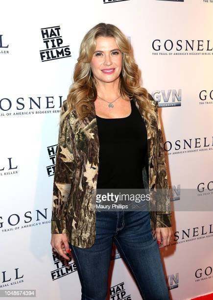 "Kristy Swanson arrives at ""Gosnell: The Trial of America's Biggest Serial Killer"" Premiere at Saban Theatre on October 9, 2018 in Beverly Hills,..."