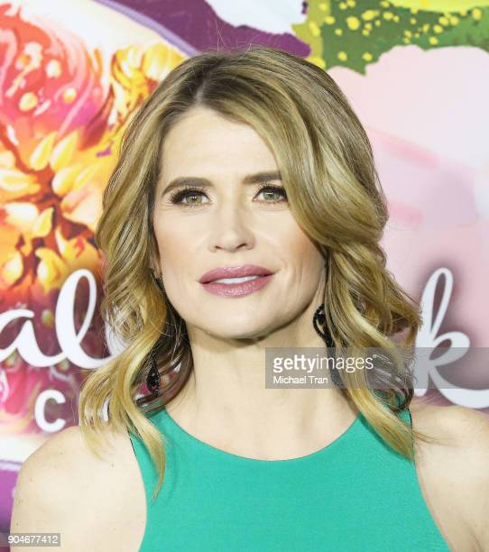 Kristy Swanson arrives to the Hallmark Channel and Hallmark Movies and Mysteries Winter 2018 TCA Press Tour held at Tournament House on January 13,...