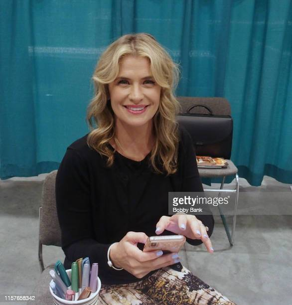 Kristy Swanson attends GalaxyCon Raleigh 2019 at Raleigh Convention Center on July 25, 2019 in Raleigh, North Carolina.