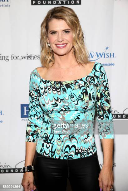 Kristy Swanson attends the 16th Annual Waiting for Wishes Celebrity Dinner Hosted by Kevin Carter & Jay DeMarcus on April 18, 2017 in Nashville,...