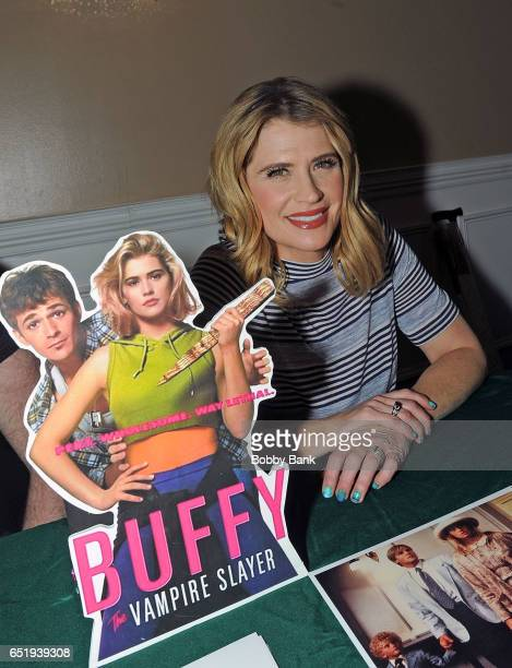 Kristy Swanson attends the 2017 Monster Mania Con at NJ Crowne Plaza Hotel on March 10, 2017 in Cherry Hill, New Jersey.