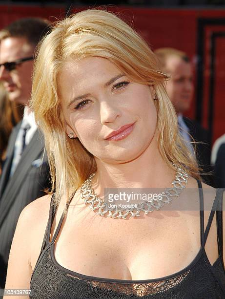 Kristy Swanson during 2005 ESPY Awards - Arrivals at Kodak Theatre in Hollywood, California, United States.