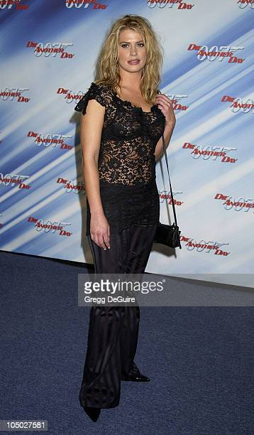 "Kristy Swanson during ""Die Another Day"" - Los Angeles Premiere at Shrine Auditorium in Los Angeles, California, United States."