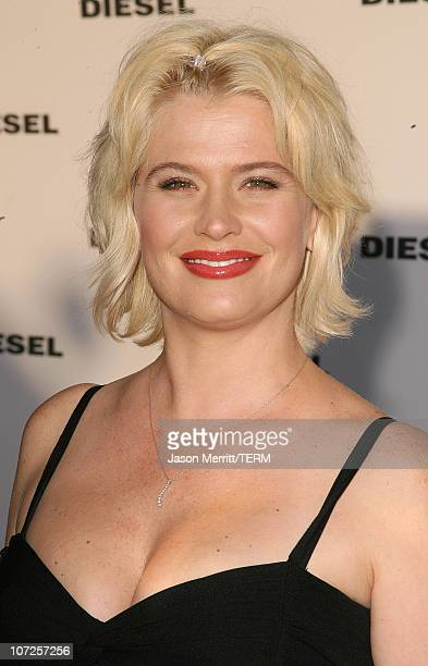 Kristy Swanson during Diesel Celebrates the Opening of the Melrose Place Flagship Store Opening Arrivals at Diesel Melrose Place in Hollywood...