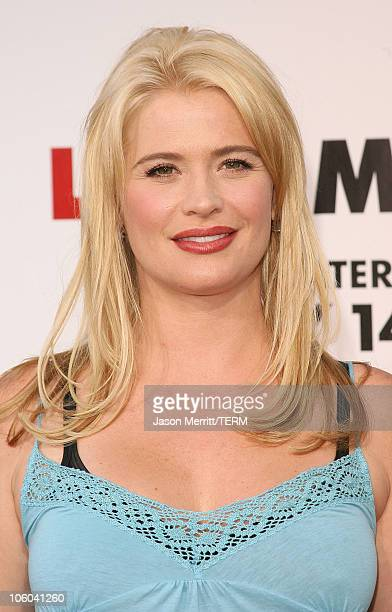 Kristy Swanson during Little Man Los Angeles Premiere Arrivals at Mann National Theatre in Westwood California United States