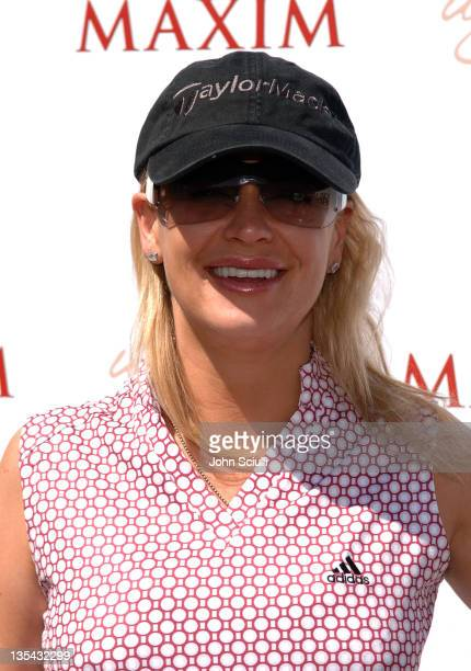 Kristy Swanson during Maxim 100th Issue Weekend - Golf Tournament in Las Vegas, Nevada, United States.