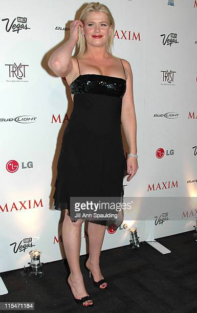 Kristy Swanson during Maxim Magazine 100th Birthday Celebration - Arrivals at Tryst at Wynn Las Vegas in Las Vegas, Nevada, United States.