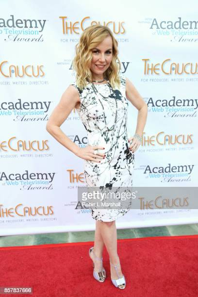 Kristyn Burtt attends the 5th Annual International Academy of Web Television Awards at Skirball Cultural Center on October 4 2017 in Los Angeles...