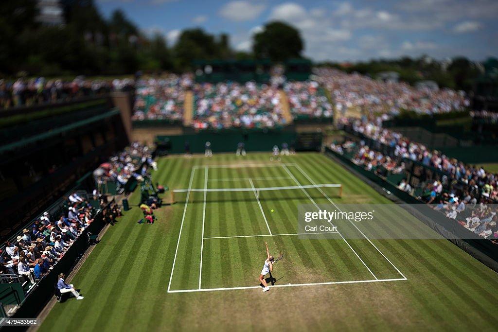 Wimbledon Tennis Championship - Day Six