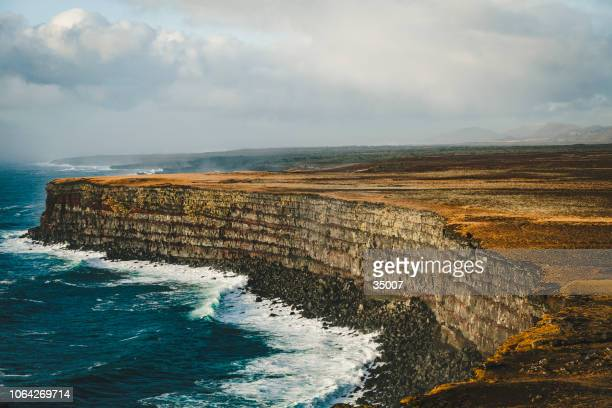 krisuvikurberg cliffs, reykjanes peninsula, iceland - extreme terrain stock pictures, royalty-free photos & images