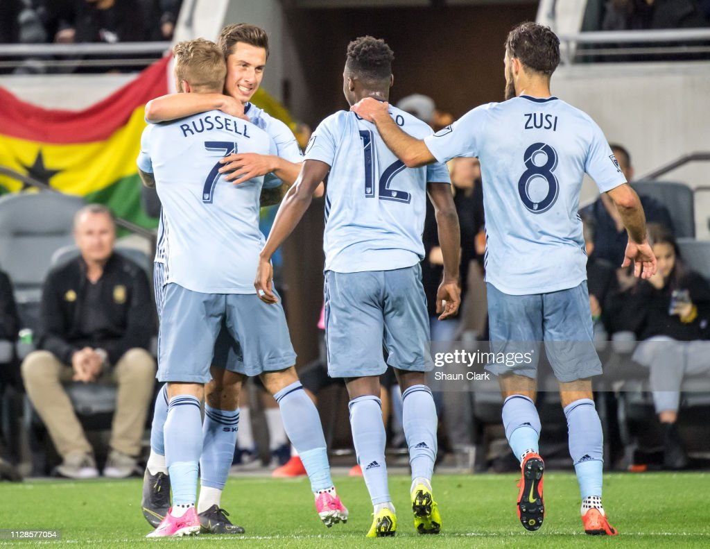 MLS Soccer - Los Angeles FC v Sporting Kansas City : News Photo