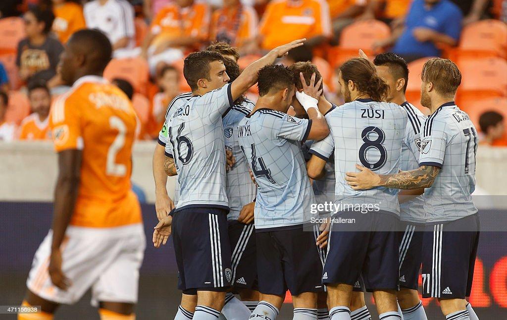 Sporting Kansas City v Houston Dynamo : News Photo