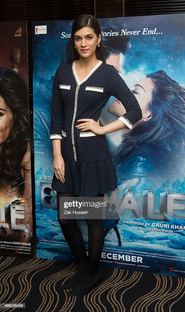 Kriti Sanon attending the photocall for `Dilwale` in London