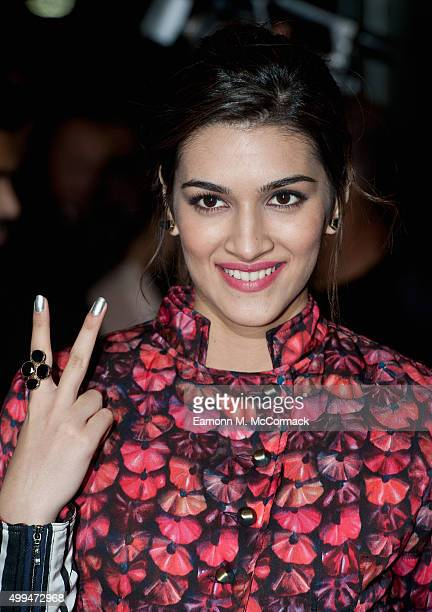 Kriti Sanon attends Photocall for Bollywood film Dilwale at Cineworld Feltham on December 1 2015 in Feltham England