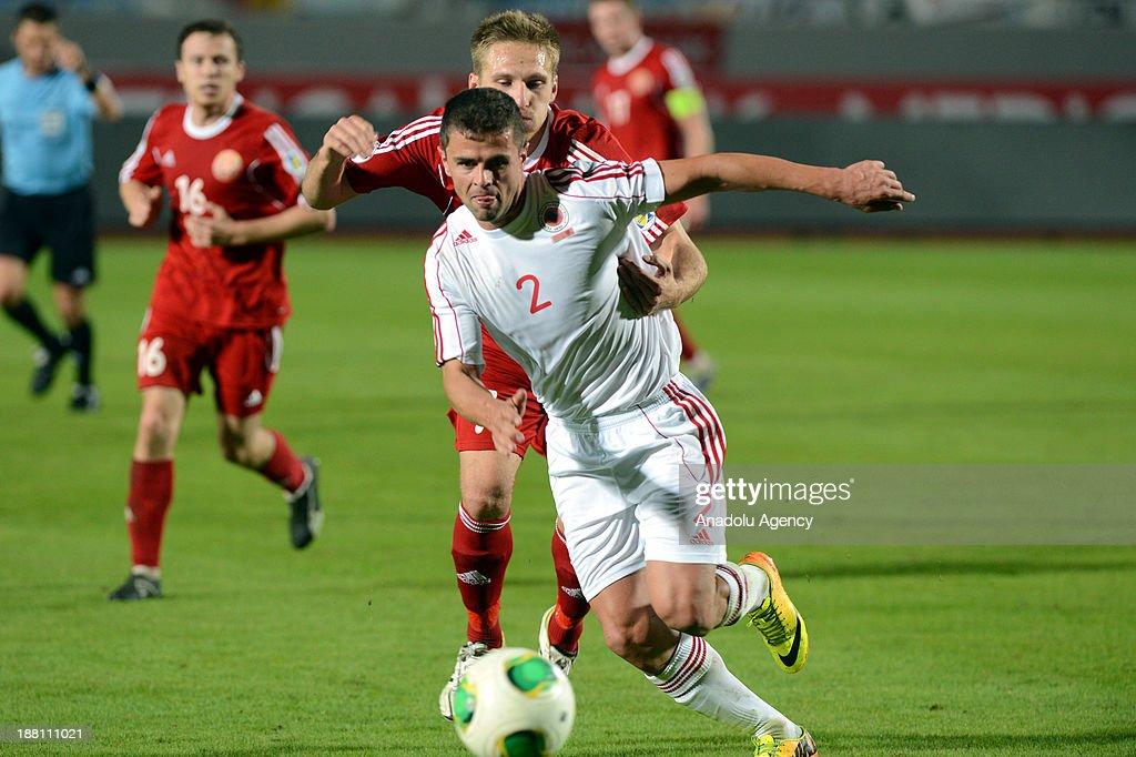 BELARUS VS ALBANIA : News Photo