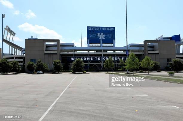Kroger Field home of the University of Kentucky Wildcats football team in Lexington Kentucky on July 29 2019