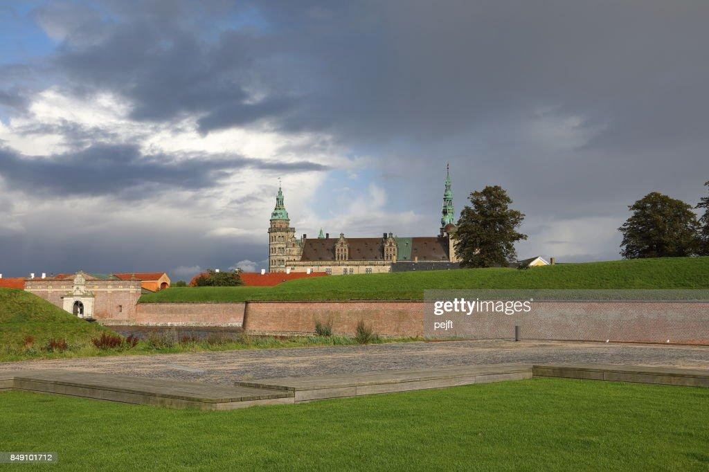 Kronborg Castle - UNESCO Worlds Heritage Site in Elsinore, Denmark : Stock Photo