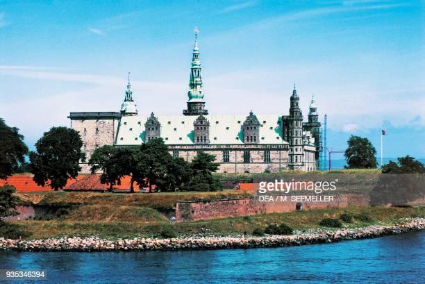 Kronborg Castle where Shakespeare set Hamlet Elsinore Denmark 15th17th century