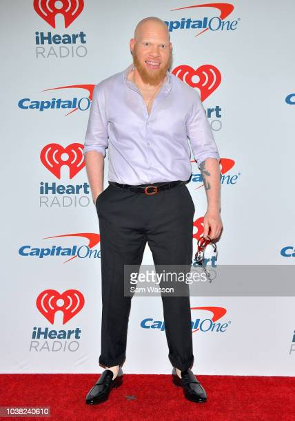 Krondon attends the iHeartRadio Music Festival at TMobile Arena on September 22 2018 in Las Vegas Nevada