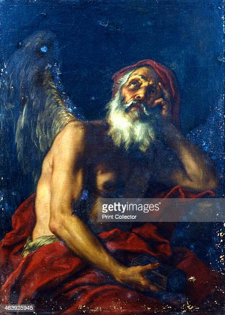 'Kronos' 17th century Kronos was one of the Greek Titans and father of Zeus He was known as Saturn in Roman mythology