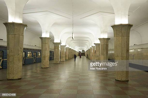 kropotkinskaya moscow metro station , russia - moscow metro stock pictures, royalty-free photos & images