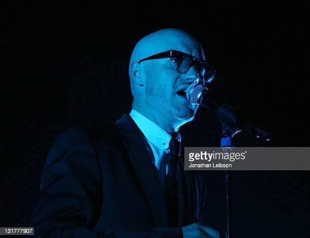 Kruder & Dorfmeister perform at Club Nokia on October 15, 2010 in Los Angeles, California.