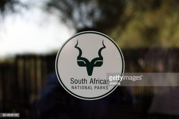 Kruger National Park South African National parks logo South Africa
