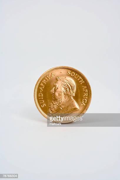 A Krugerrand coin