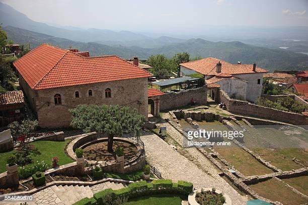 Kruja, Kruje, Albania, the remains of the Kruje castle.