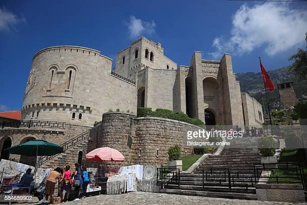 Kruja, Kruje, Albania, the Skanderbeg Museum in the environs of the Kruje castle.