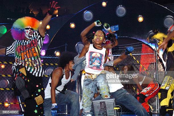 Krump Dancers attends 2005 MTV Video Music Awards at American Airlines Arena on August 28 2005 in Miami FL