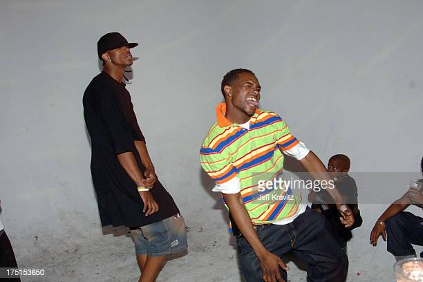 Krump Dancing during 'Rize' Los Angeles Premiere After Party at LaChapelle Studio in Hollywood California United States