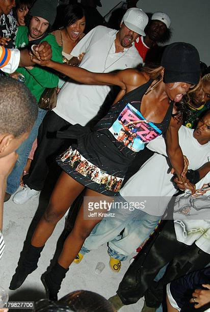 Krump Dancing during Rize Los Angeles Premiere After Party at LaChapelle Studio in Hollywood California United States