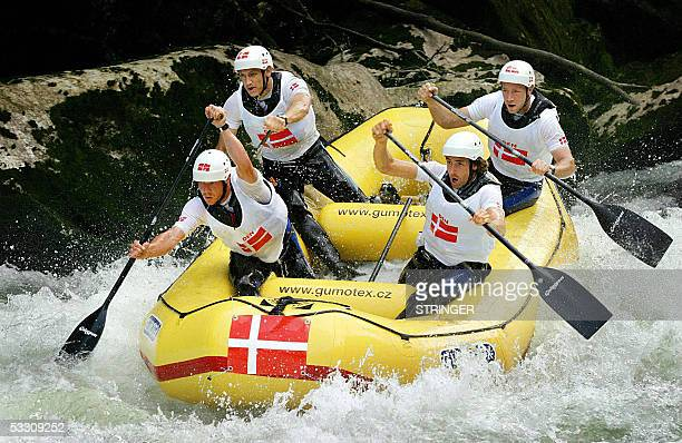 With Rafting winning hearts of Bosnians Tourist enjoy rafting down the Vrbas river inear Krupa na Vrbasu 29 July 2005 in the northern Bosnia A decade...