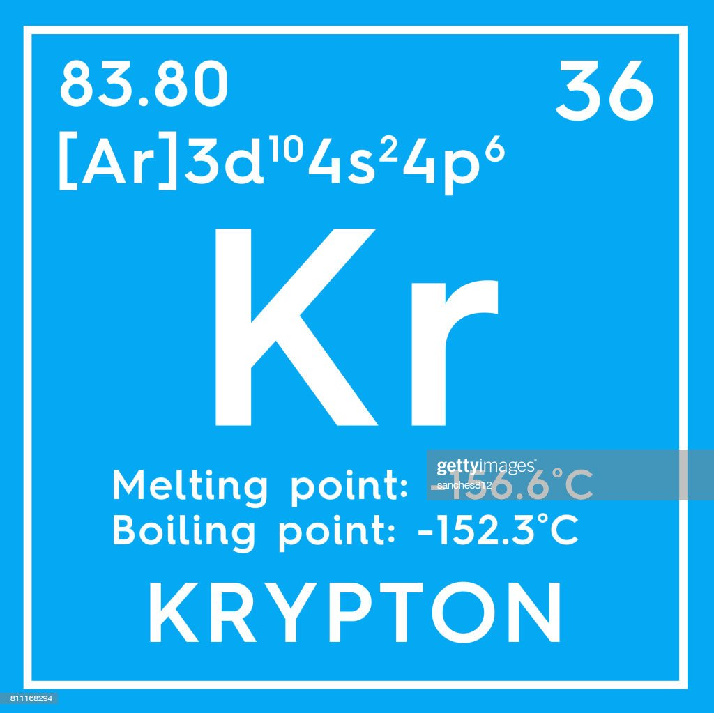 Krypton noble gases chemical element of mendeleevs periodic table krypton noble gases chemical element of mendeleevs periodic table stock photo buycottarizona