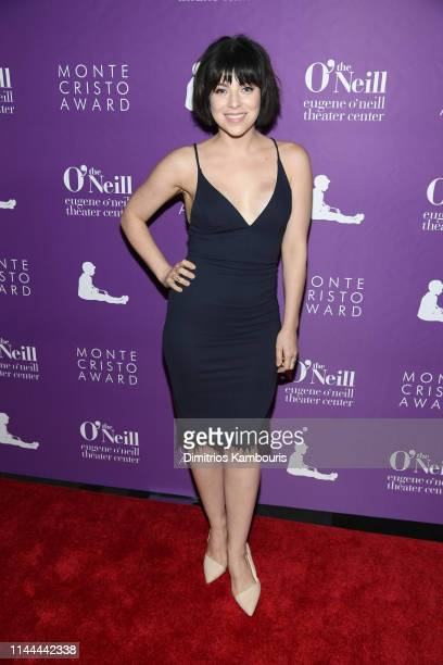 Krysta Rodriguez attends 19th Annual Monte Cristo Awardat Edison Ballroom on April 22 2019 in New York City
