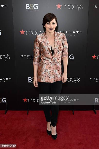 Krysta Rodriguez attends Macy's and Broadway Style Guide welcome today's hottest broadway stars for an evening of men's style hosted by NY1's Frank...