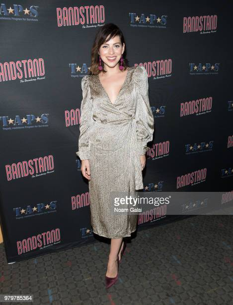 Krysta Rodriguez attends the 'Bandstand The Broadway Musical On Screen' New York premiere at SVA Theater on June 20 2018 in New York City