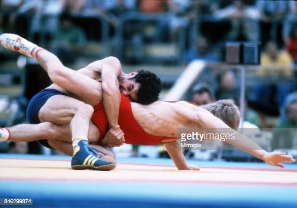 Krysta v Serikov Wrestling 1980 at the Olympic Games Moscow