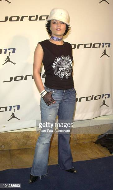 Krystal Harris during NIKE Air Jordan XVII Launch Party at The Sunset Room in Hollywood California United States