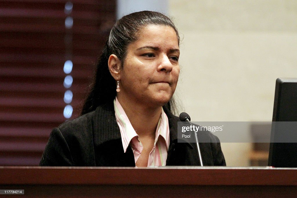 Krystal Holloway, also known as River Cruz, testifies during the Casey Anthony murder trial at the Orange County Courthouse on June 30, 2011 in Orlando, Florida. Holloway claims to have had an affair with George Anthony, Casey's father. Anthony's defense attorneys argued that she didn't kill her two-year-old daughter Caylee, but that she accidentally drowned.