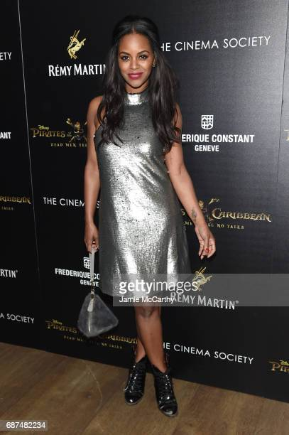 Krystal Joy Brown attends a screening of 'Pirates Of The Caribbean Dead Men Tell No Tales' hosted by The Cinema Society at Crosby Street Hotel on May...