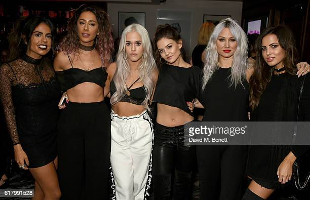 Krystal Rodriguez Aimee Kritikos Lottie Tomlinson Danielle Campbell Lou Teasdale and Sophia Smith attend as Lottie Tomlinson hosts a party to launch...