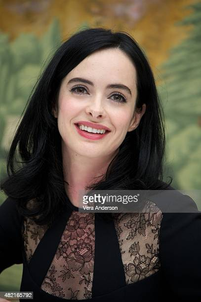 Krysten Ritter at the 'Jessica Jones' Press Conference at The London Hotel on July 25 2015 in New York City
